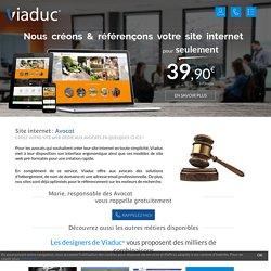 Création de site internet pour Avocat