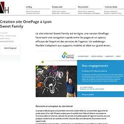 Création de site Onepage à Lyon