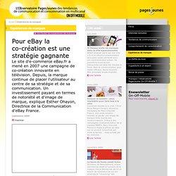 Pour eBay la co-création est une stratégie gagnante - PagesJaunes
