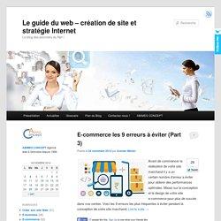 Le guide du web - création de site et stratégie Internet - Le blog des pionniers du Net !
