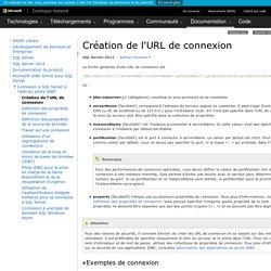 Création de l'URL de connexion