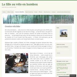 La fille au vélo en bambou
