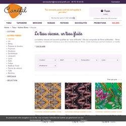 Tissu viscose pour la création de vêtements - Mercerie Caréfil