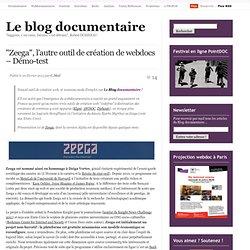"""""""Zeega"""", l'autre outil de création de webdocs – Démo-test"""