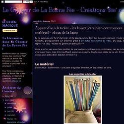 Apprendre à tricoter : les bases pour bien commencer - matériel - choix de la laine-Mozilla Firefox