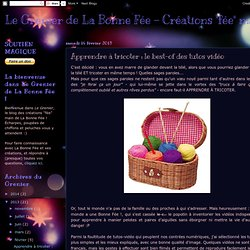 """Le Grenier de La Bonne Fée - Créations """"fée"""" main: Apprendre à tricoter : le best-of des tutos vidéo"""
