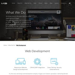 Top Web Development Companies In Egypt