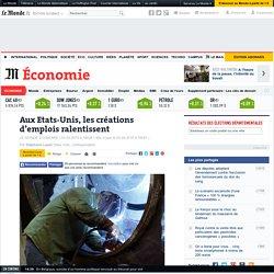 Les créations d'emplois ralentissent - Le Monde 03/04/15