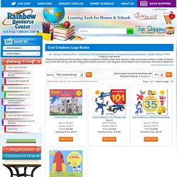 Cool Creations Lego Books - Product Browse - Rainbow Resource Center, Inc.