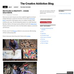 The Creative Addiction Blog
