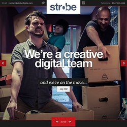 Strobe Digital — we make sites and apps for web and mobile