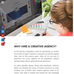 Why hire a creative agency? - PixelSutra