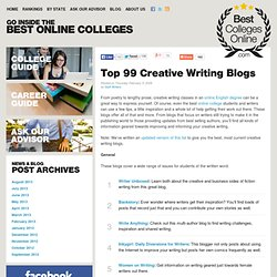 Top 99 Creative Writing Blogs