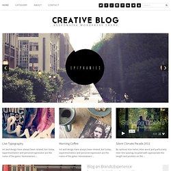 Creative Blog Theme WordPress