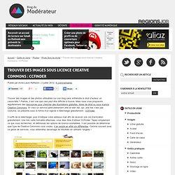 Trouver des images sous licence Creative Commons : CCFinder