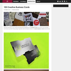 100 Amazing Business Cards | NewEvolution