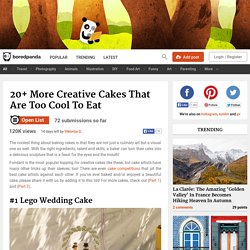 20+ More Creative Cakes That Are Too Cool To Eat