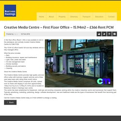 Creative Media Centre - 1st floor office to let - BIH Property