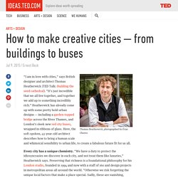 How to make creative cities — from buildings to buses