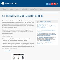 The Giver: 7 Creative Classroom Activities