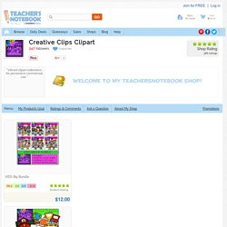 Creative Clips Clipart Shop - About