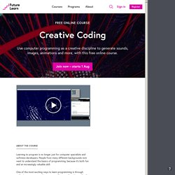 Creative Coding — Monash University