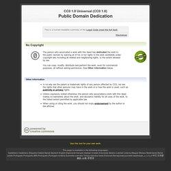 Licence CC0