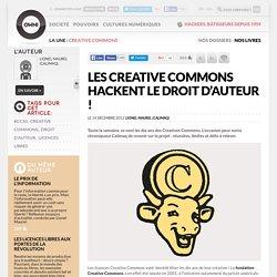 Les Creative Commons hackent le droit d'auteur !