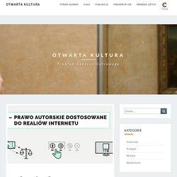 Creative Commons – instrukcja obsługi – Otwarta Kultura