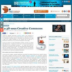 La 3D sous Creative Commons