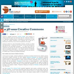 La 3D sous Creative Commons