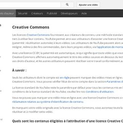 Creative Commons – YouTube