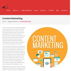 Creative Content writing and Marketing Company and Agency in Indore