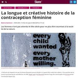La longue et créative histoire de la contraception féminine