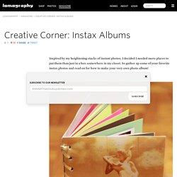 Creative Corner: Instax Albums