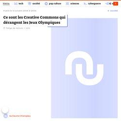 Ce sont les Creative Commons qui dérangent les Jeux Olympiques -