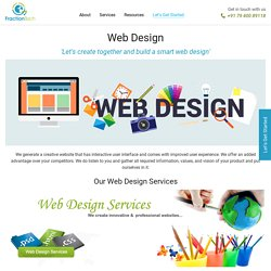 Unique Responsive & SEO Friendly Web Design services and Solutions in India