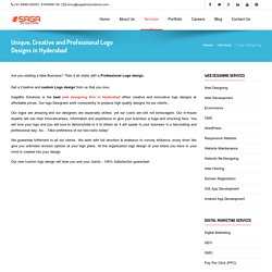 Creative Logo Designing Services in Hyderabad