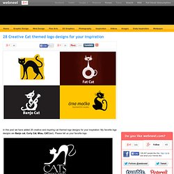 28 Creative Cat themed logo designs for your inspiration