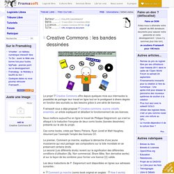Creative Commons : les bandes dessinées - Free Culture