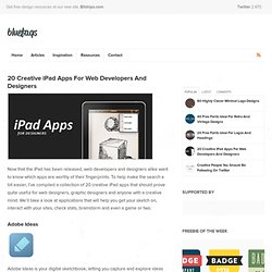 20 Creative iPad Apps For Web Developers And Designers