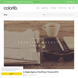 Top 20 Creative Digital Agency WordPress Themes 2016