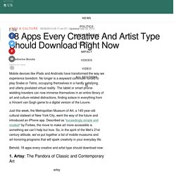 18 Apps Every Creative And Artist Type Should Download Right Now