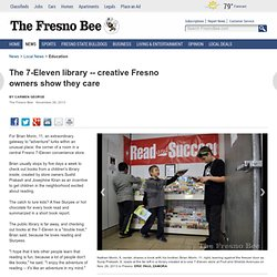 creative Fresno owners show they care