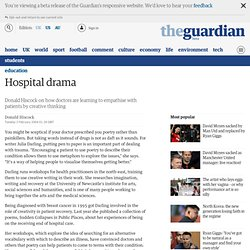 Creative writing helps doctors empathise with patients