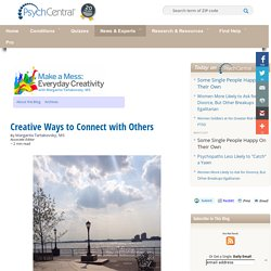 Creative Ways to Connect with Others