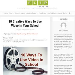 10 Creative Ways To Use Video in Your School - Flipped Learning Network Hub