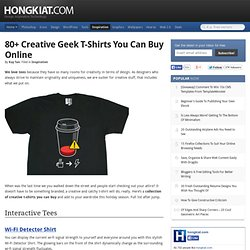 80+ Creative Geek T-Shirts You Can Buy Online
