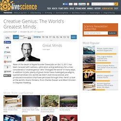 Creative Genius: The World's Greatest Minds | Steve Jobs, Stephen Hawking & Albert Einstein | Geniuses