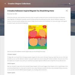 Get Creative Shape Magnets Online